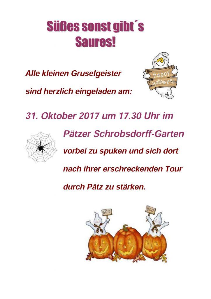 Einladung Zur Halloween Party Am 31.10.17